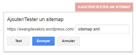 sitemap Search Console Google
