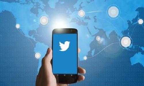 être présent sur Twitter
